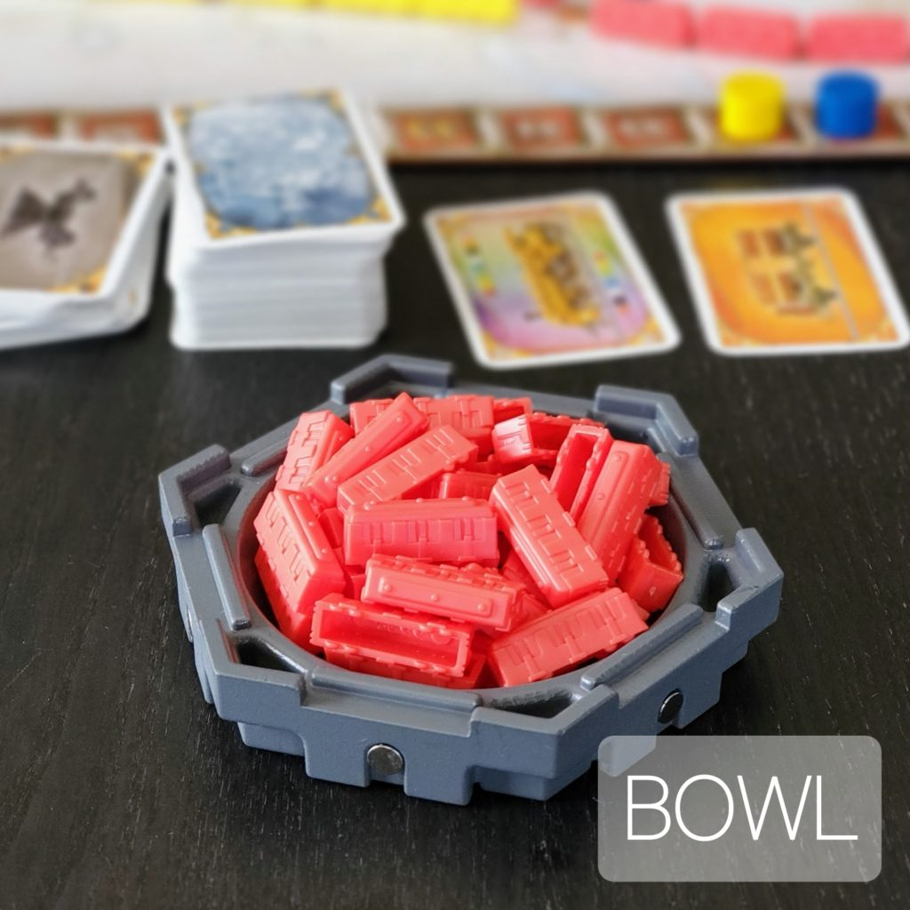 HEX Magnetic Board Game Bowl Storage