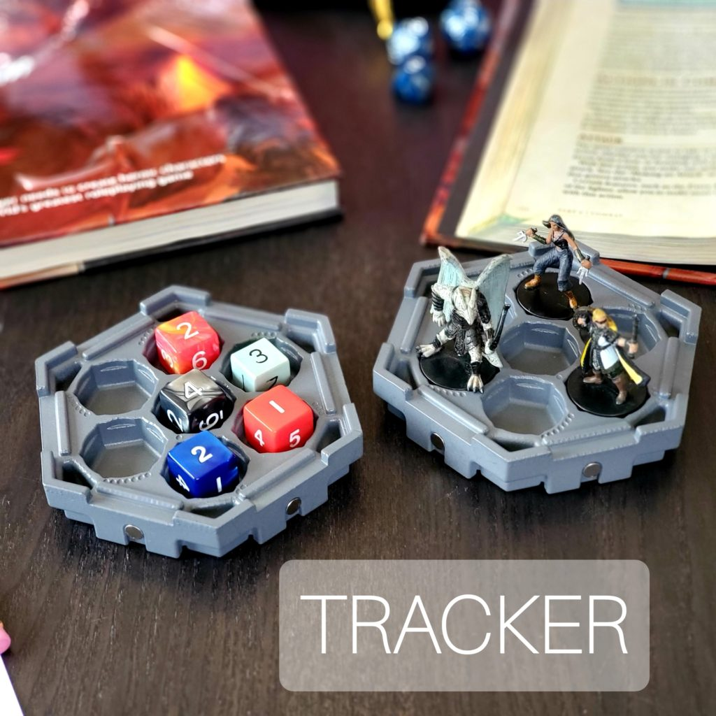 HEX Magnetic Board Game Storage Tracker